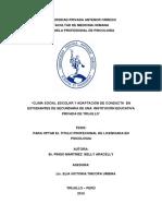 Pingo (2015) Clima social escolar y adaptación de conducta.pdf