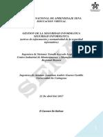Activos de Información y Normatividad de La Seguridad Informática