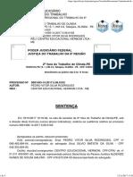 Ata de Audiência - Acordo Pedro Vitor