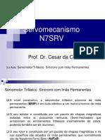 3.a Aula_N7SRV_Servomotor Trifásico Síncrono Com Imãs Permanentes