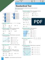 Chapter 2 - Standardized Test