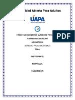 Procesal Penal., Tema No.2