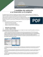 Medidas MEF Para Atender La Inversión