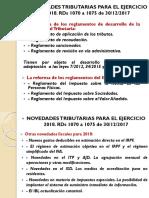 Novedades Fiscales 2018 CEF