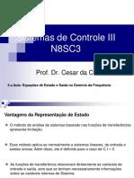 5.a Aula_N8SC3_Equações de Estado e Saída No Domínio Da Frequência v2