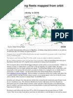 Mapping Global Fishing Fleets BBC Feb 2018