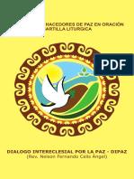 Hacedoras y Hacedores de Paz en Oración Cartilla Liturgica DiPaz