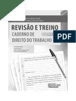 Caderno de Treino Direito Do Trabalho