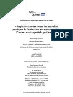 Aéro Montréal_ Consultation Sur La Politique Industrielle _2013!02!20