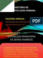 HISTORIA DE PARÁSITOS