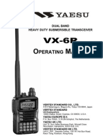 Yaesu VX-6R Operation Manual