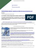 Los Huertos Solares Dispararán La Factura Eléctrica Un 19% - Libertad Digital