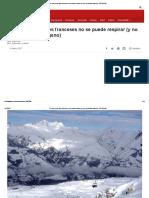 Por Qué en Los Alpes Franceses No Se Puede Respirar (y No Es Por Falta de Oxígeno) - BBC Mundo