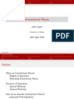 GravitationalWaves presentation