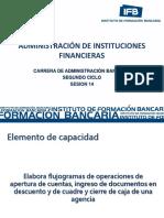Administracion de Instituciones Financieras Sesion 14 2012-2