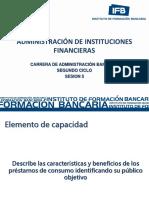 Administración de Instituciones Financieras_ Sesion 5