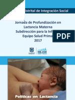 1. Politicas Lactancia Materna