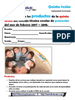 ProductosCTE5taSesPreescolar2018