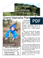 October 2006 Kapiti Mana, Royal Forest and Bird Protecton Society Newsletter