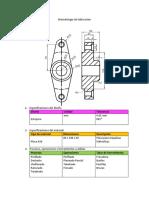 Metodología de fabricación pieza 1 u1