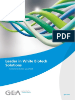 Bio Based Chemical Fermentation Biomass Separation Evaporation Crystallization Drying Gea