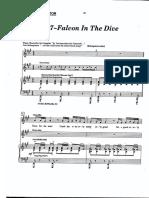 Falcon in the Dive