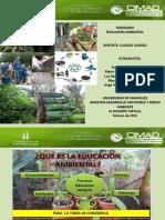 Presentacion Educación ambiental