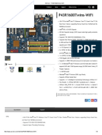 ASRock P43R1600Twins WiFi