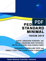 Billing Rate INKINDO 2018