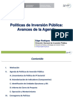 Politicas Inversión Edgar Rodriguez
