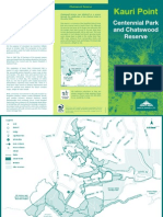 Kauri Point Centennial Park and Chatswood Reserve Brochure