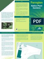 Fernglen Native Plant Gardens brochure
