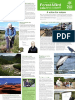 2010 Annual Report Royal Forest and Bird Protecton Society