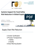 IFT2009-System Support for Food Safety Risk Reduction
