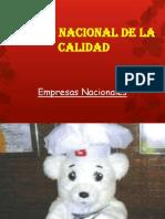 Premio Nacional Presentacion
