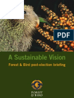 Forest and Bird's Sustainable Vision