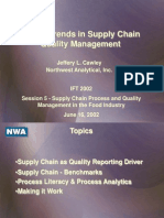 IFT2002-Future Trends in Supply Chain Quality Management