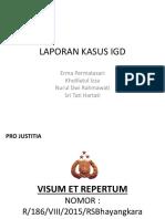 LAPORAN KASUS IGD 23 Agustus 2015 KDRT.pptx