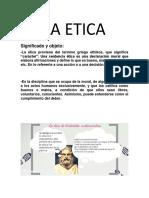 La Etica 1105