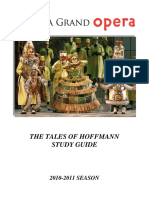 The Tales of Hoffmann Study Guide