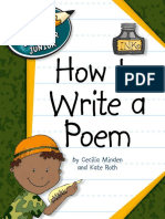 Explorer Junior Library - How to Write a Poem