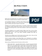 Emissions Worksheet | Volatile Organic Compound | Air Pollution