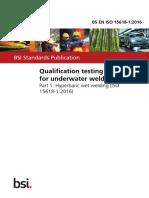 BS EN ISO 15618-1 2016