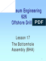 17. the Bottomhole Assembly
