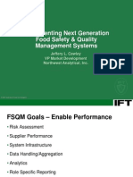 IFT2007-Implementing Next Generation Food Safety & Quality