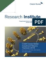 Credit Suisse Global Investment Returns Yearbook 2018 En