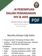 Hiv Aids 2015. by Dr Muchlis