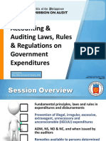 Accounting and Auditing Laws Rules and Regulations Atty Billy Joe Ivan Darbin