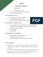 USLM Basics of Law