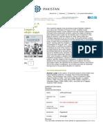Kashmir_ a Disputed Legacy 1846–1990 - International Affairs - Academic & General Books